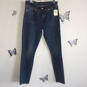 Lucky Brand Ava Skinny Jeans in dark wash